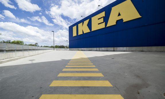 Ikea baut um